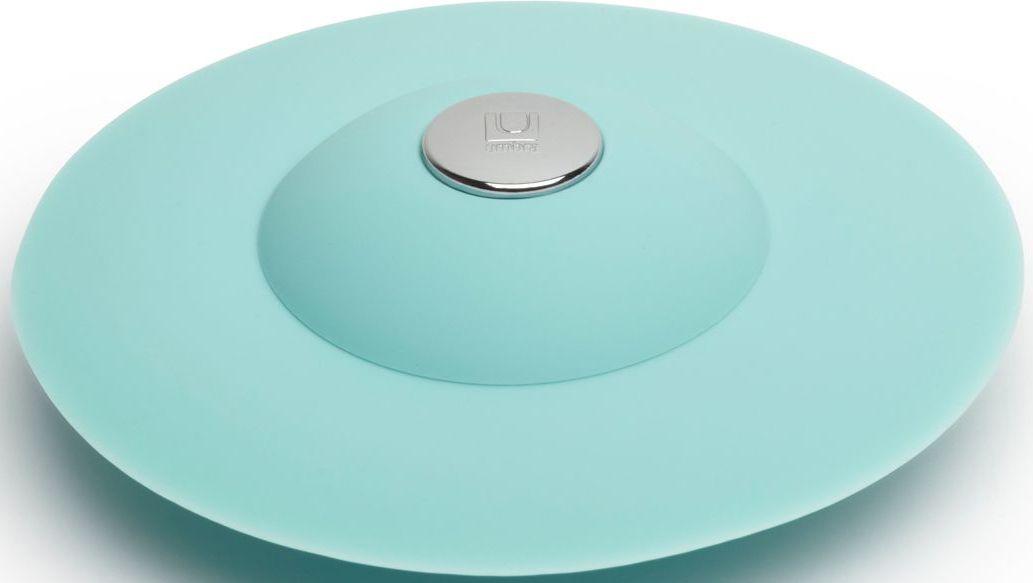 Фильтр для слива Umbra Flex, цвет: ярко-голубой, 3,2 х 8,9 х 8,9 см023464-276Если вы думали, что ещё удобнее сделать фильтр для слива невозможно, вы ошибались! Нажмите на металлическую кнопку в центре, чтобы вода сливалась через фильтр, задерживая в нём мусор. Нажмите на резиновые крылышки вокруг кнопки, и фильтр закроет слив, чтобы вы смогли наполнить ванну. Сочетается с другими аксессуарами из коллекции FLEX Дизайнер Anthony Keeler