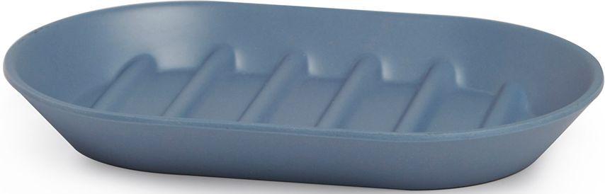 Мыльница Umbra Fiboo, цвет: дымчато-синий, 1,9 х 14,9 х 9,4 см023873-755Эта практичная мыльница изготовлена из комбинированного материала (меламин и бамбуковое волокно), который отличает экологичность, износостойкость и уникальный матовый эффект. Ребристая поверхность позволит мылу быстро высохнуть. Дизайн: Wesley Chau