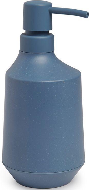 Диспенсер для мыла Umbra Fiboo, цвет: дымчато-синий, 18,4 х 8,3 х 10,3 см023874-755Этот диспенсер для жидкого мыла изготовлен из комбинированного материала (меламин и бамбуковое волокно), который отличает экологичность, износостойкость и уникальный матовый эффект. Благодаря лаконичному дизайну будет гармонично смотреться в любой ванной комнате. Аксессуар также подойдет для кухни в качестве диспенсера для моющего средства. Дизайн: Wesley Chau