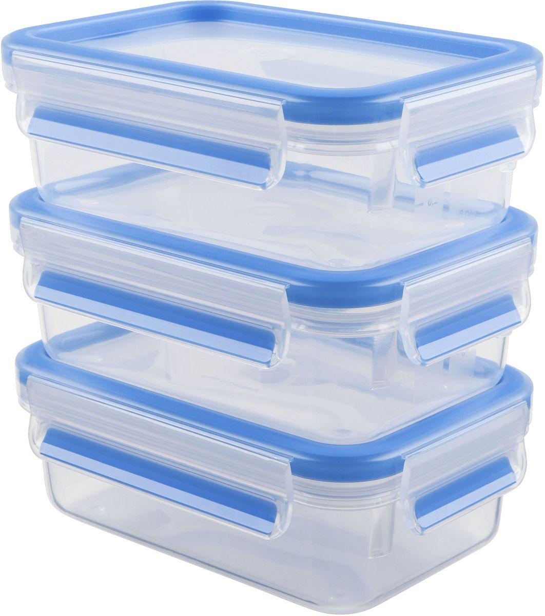 Набор контейнеров Emsa Clip&Close, 3 предмета, 550 мл508570