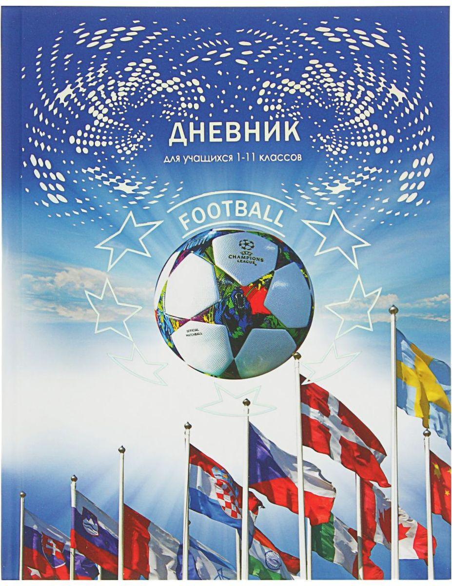 BG Дневник школьный Мировой футбол2080400