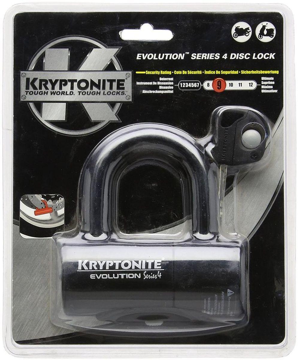 Замок велосипедный Kryptonite Disc Locks Evolution Series 4 Disc Lock, цвет: черный0720018999607Evolution Series 4 Disc Lock Black — это компактный противоугонный замок. Данный замок изготовлен из закалённой стали, противостоящей взлому с использованием режущего и пилящего иструмента. По классификации замок имеет 8 из 10 степень защиты. В комплекте идут 3 ключа. Виниловая оболочка замка защищает диски от царапин. Характеристики: - Скоба имеет диаметр 14 мм и сделана из каленой стали - Система высокой надежности, с двойным усилением - В комплекте идет 3 ключа - Опция Key Safe (возможность заказа при потере 2 новых ключей бесплатно) - Gold Sold Secure (классификация надежности замков в Европе) - Уровень защиты 8 из 10 - Размер замка: 48 мм х 54 мм - Вес замка: 0.84 кг.