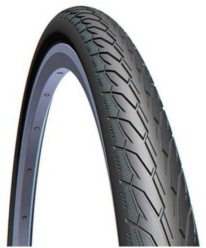 """Покрышка велосипедная Mitas """"V66 Flash"""", цвет: черный, 28 х 1,75 5-10952225-042"""