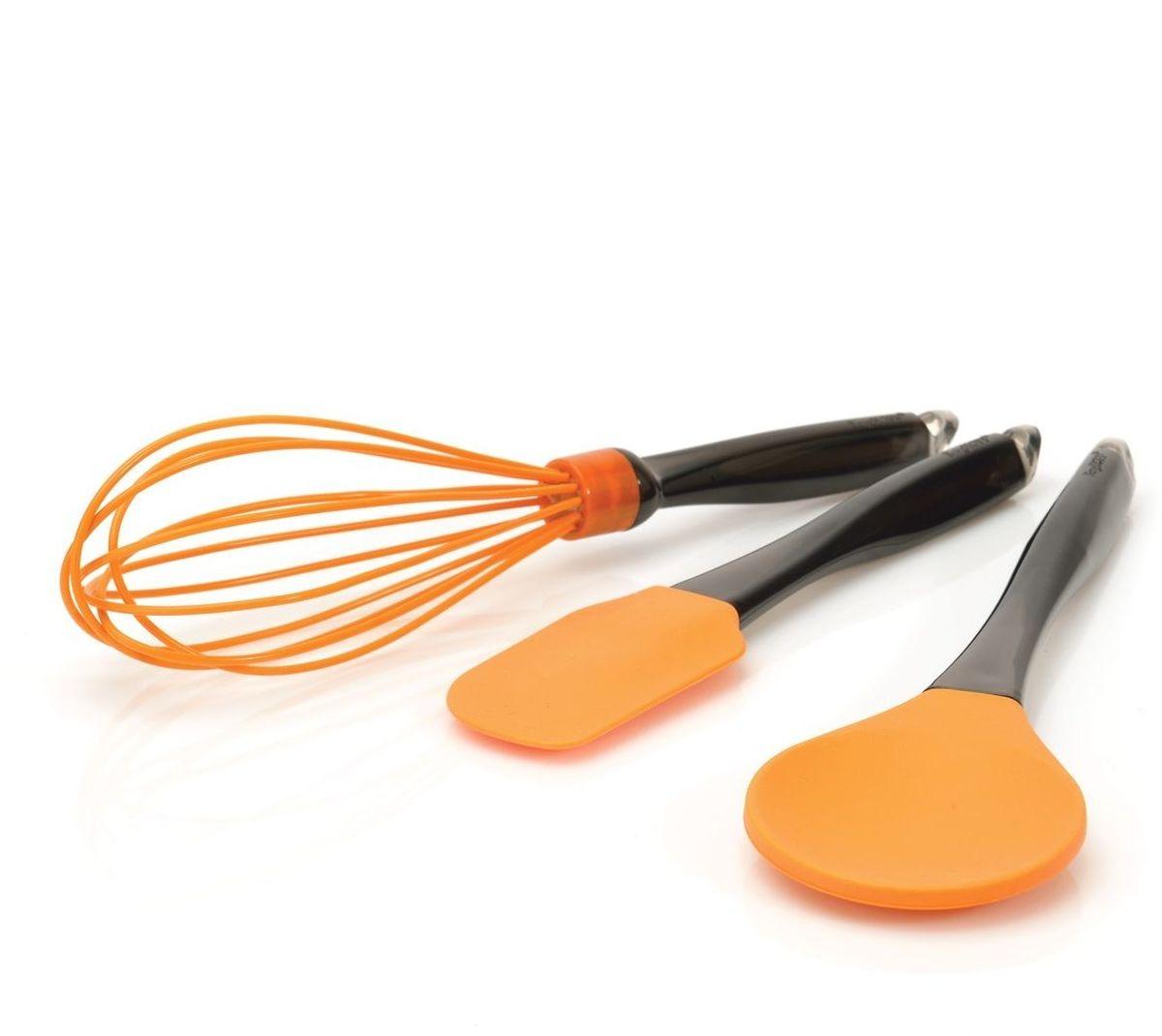 Набор кухонных принадлежностей BergHOFF, цвет: оранжевый, 3 предмета4491006