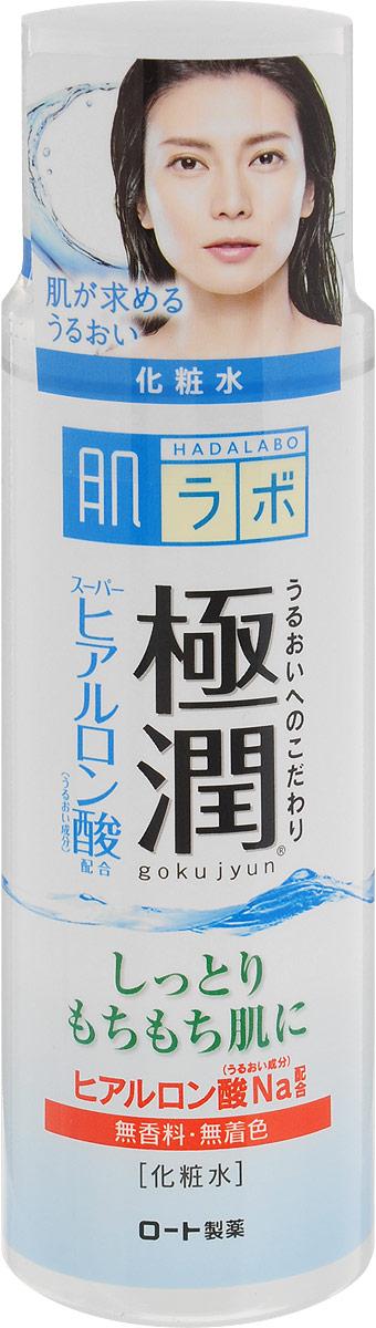 Hada Labo Лосьон-гидратор, для сухой и нормальной кожи лица, 170 млБ63003 мятаУвлажняющий лосьон для сухой и нормальной кожи лица с гиалуроновой кислотой. Быстро впитывается, не закупоривает поры, обладает матирующим эффектом, снимает покраснения и раздражения. Янтарная кислота, входящая в состав лосьона, оказывает мощнейшее оздоровительное действие, не вызывая побочных эффектов и привыкания.Лосьон не содержит минеральных масел, алкоголя, красителей или отдушек.Способприменения: использовать после умывания (очищения кожи).2-3 капли средства нанести на лицо похлопывающими движениями. Характеристики:Объем: 170 мл. Артикул: 127016. Производитель: Япония. Товар сертифицирован.