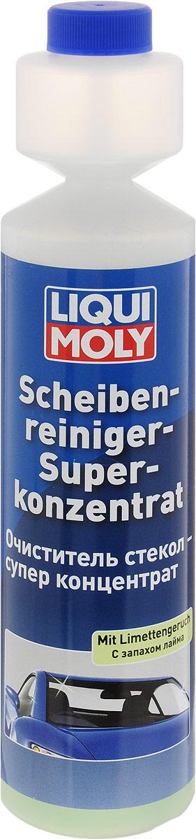 Очиститель стекол Liqui Moly Лайм, супер-концентрат, 250 мл2385Очиститель стекол Liqui Moly с ароматом лайма обеспечивает быструю и эффективную очистку стекол, тем самым улучшая обзорность и повышая безопасность движения. Удаляет следы от насекомых, пыли, воска, силиконов, дизельной копоти, а также загрязнения, которые способны создавать опасные пленки, слепящие и мешающие обзору, особенно в сумерках и при дожде. Смазывает уплотнения насоса стеклоомывателя. Пригоден к употреблению в веерных дюзах и системах очистки фар с пластиковыми светорассеивателями. Не содержит фосфатов, биологически разлагаем. Разводится с водой 1:100. Состав: вода, краситель, 15-30% анионные ПАВ, 2-бром-2-нитропропан-1,3-диол, метилизотиазолинон, бензизотиазолинон, метилхлороизотиазолинон/метилизотиазолинон, ароматизаторы. Товар сертифицирован. Уважаемые клиенты! Обращаем ваше внимание на возможные изменения в дизайне упаковки. Качественные характеристики товара остаются неизменными. Поставка осуществляется в...