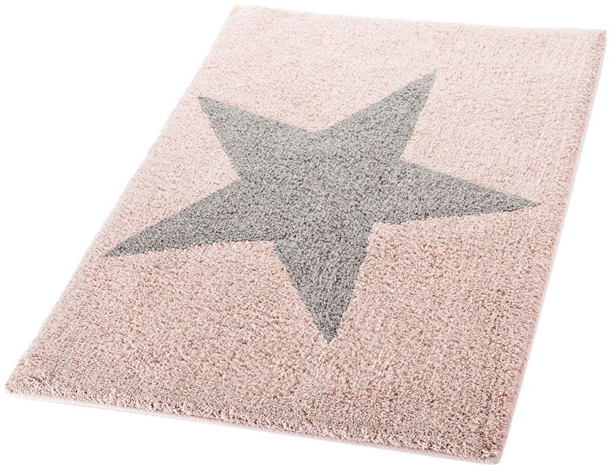 Коврик для ванной комнаты Ridder Star, цвет: розовый, 60 х 90 см712307