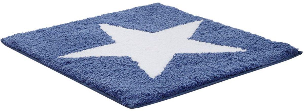 Коврик для ванной комнаты Ridder Star, цвет: синий, 50 х 55 см712801