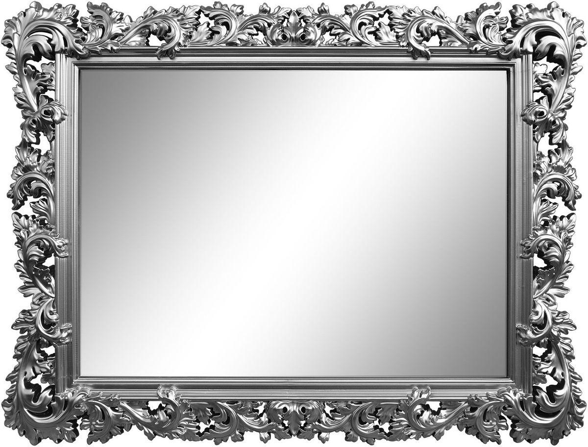 "Зеркало VezzoLLi ""Алиана"", цвет: серый металлик, 88 х 115 см 15-74"