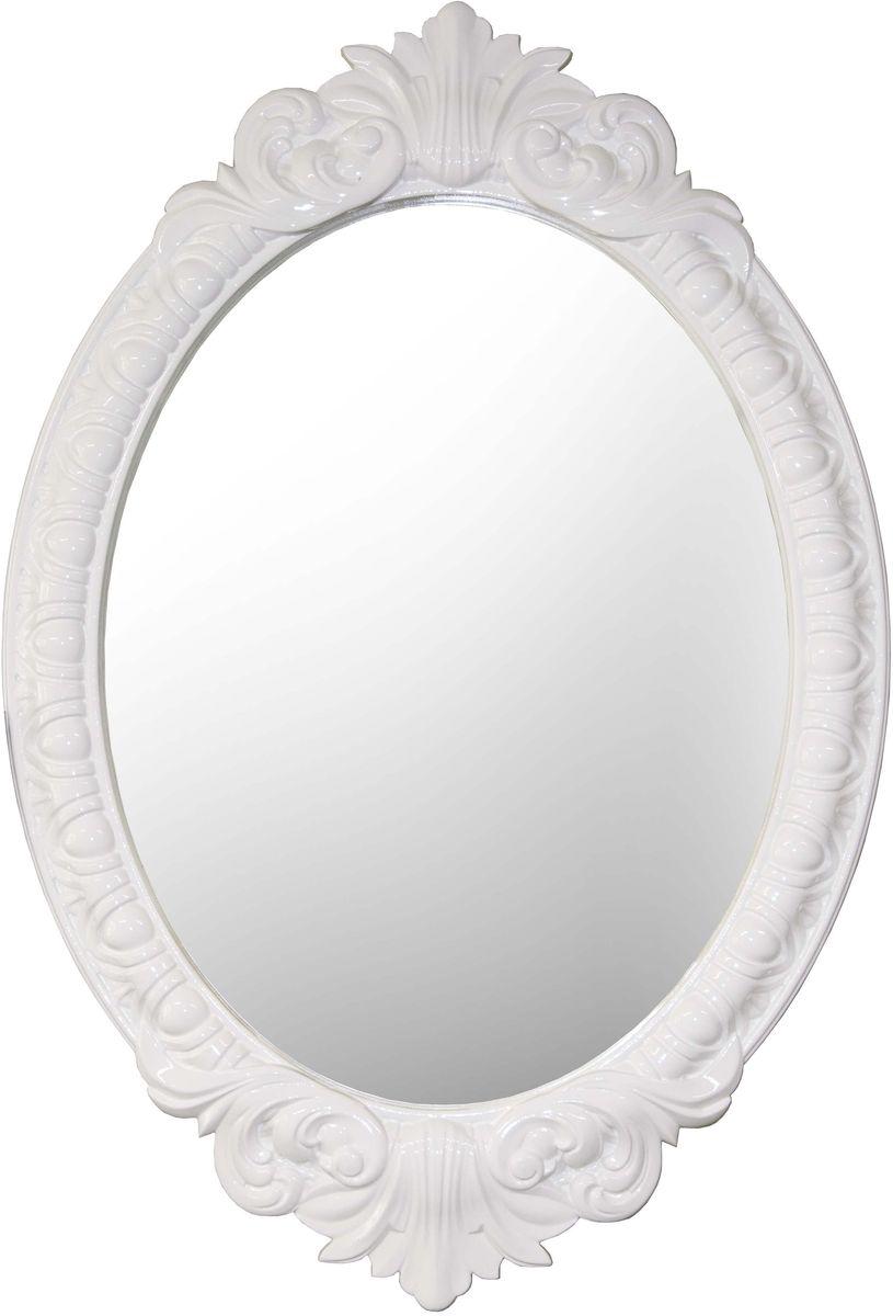 Зеркало VezzoLLi Венеция, цвет: белый, 72 х 104 см282808С обратной стороны зеркало снабжено двумя металлическими подвесами. Видимый размер зеркального полотна 72х55 см.