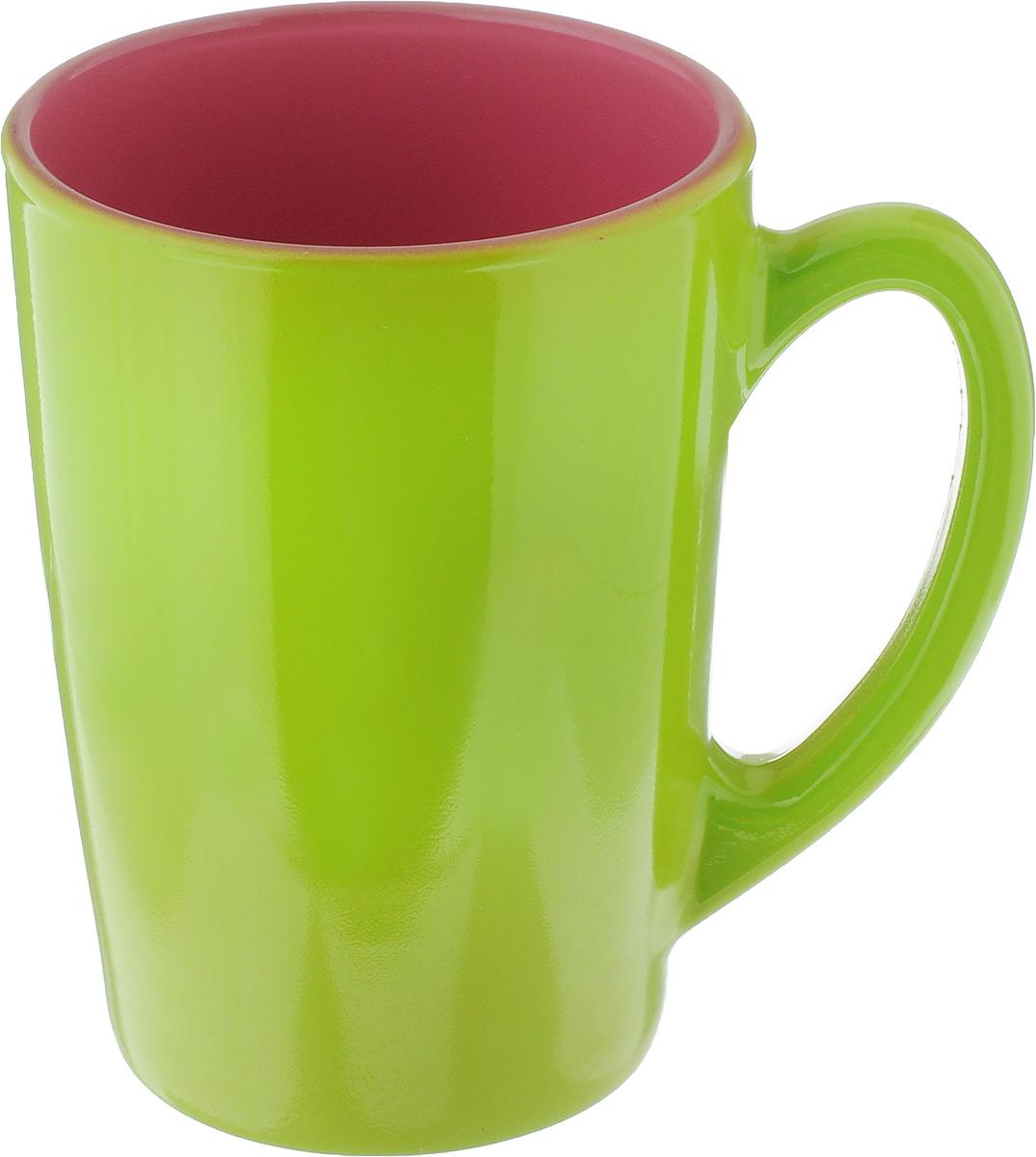Кружка Luminarc Spring Break, цвет: салатовый, розовый, 320 мл. J3417-1J3417-1_салатовый, розовыйКружка Luminarc Spring Break, изготовленная из ударопрочного стекла, прекрасно подойдет для горячих и холодных напитков. Она дополнит коллекцию вашей кухонной посуды и будет служить долгие годы. Можно использовать в микроволновой печи и мыть в посудомоечной машине. Диаметр кружки (по верхнему краю): 8 см. Высота стенки кружки: 11 см.