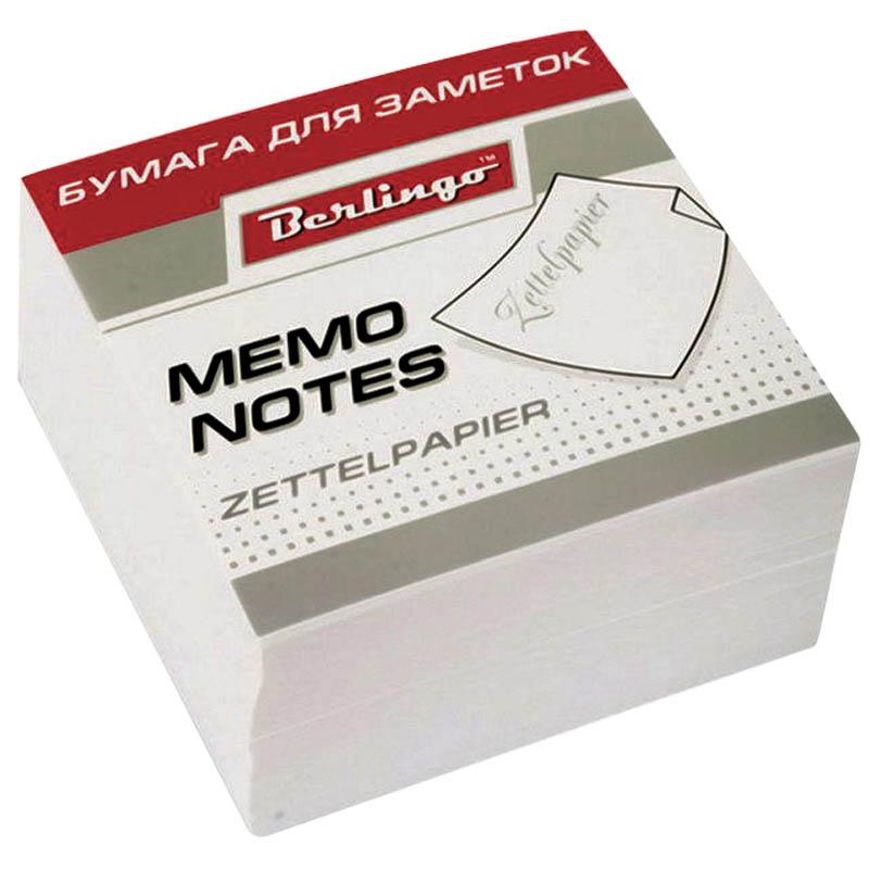 Berlingo Бумага для заметок Standard цвет белый 9 х 9 х 4,5 см2010440Блок для оперативных записей. Плотность бумаги 80 г/м2. Размер листа в блоке - 90 х 90 мм. Подходит для боксов Berlingo ZP7607 и ZP7608.