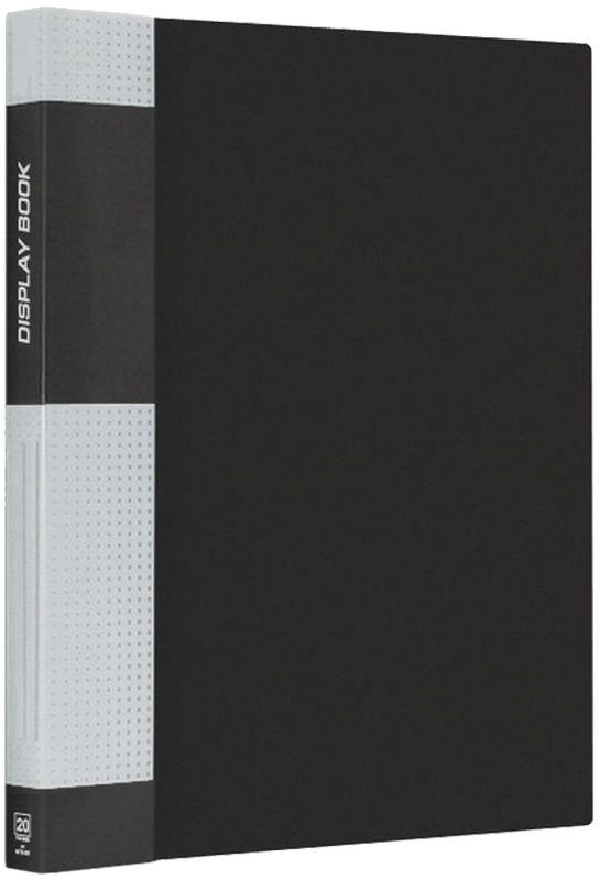 Berlingo Папка Standard с 20 вкладышами цвет черныйMT2429Функциональная папка с прозрачными вкладышами. Материал - плотный пластик. Классические офисные цвета. Индивидуальная упаковка в пленку.