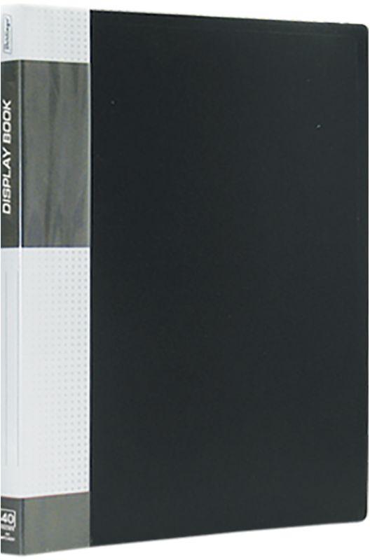 Berlingo Папка Standard с 40 вкладышами цвет черныйMT2439Функциональная папка с прозрачными вкладышами. Материал - плотный пластик. Классические офисные цвета. Индивидуальная упаковка в пленку.