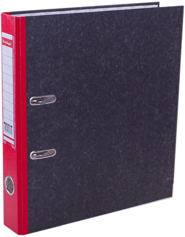 Berlingo Папка-регистратор цвет мраморный красныйFS-36054Папка-регистратор Berlingo пригодится в каждом офисе и доме для хранения больших объемовдокументов.Обложка изготовлена из жесткого износостойкого картона. Папкаоснащена прочным металлическим арочным механизмом, обеспечивающим надежную фиксациюперфорированных бумаг и документов формата А4. Круглое отверстие в корешке папки облегчитее извлечение с полки, а прозрачный карман со съемной этикеткой позволяет маркироватьсодержимое. На внутренней стороне обложки размещено поле для записей.Нижняя грань папки имеет металлическую окантовку.Папка-регистратор станет вашим надежным помощником, она упростит работу с бумагами идокументами и защитит их от повреждения, пыли и влаги.