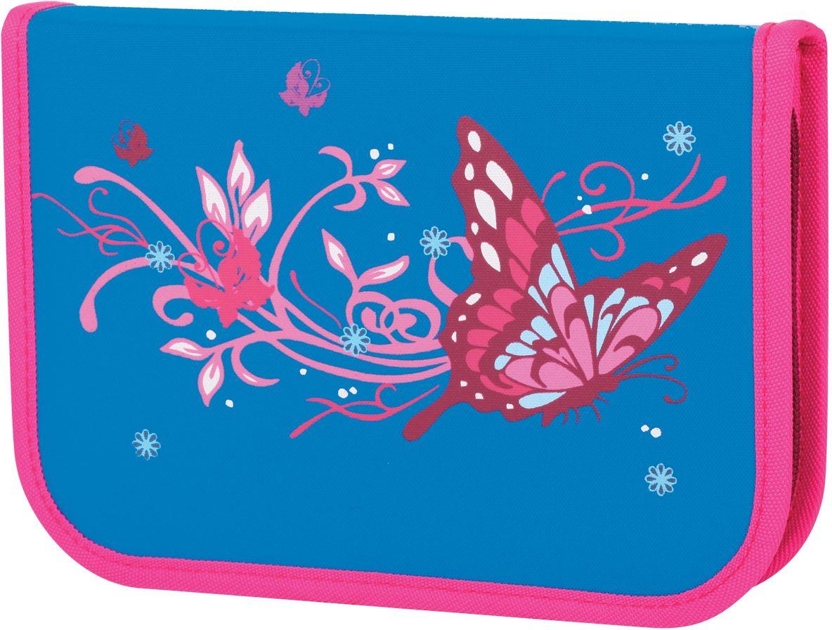 Tiger Enterprise Пенал Icy Butterfly72523WDПенал Tiger Enterprise Icy Butterfly станет не только практичным, но и стильным аксессуаром для любой школьницы. Пенал прямоугольной формы выполнен из прочного материала и состоит из одного вместительного отделения с откидной планкой, закрывающегося на застежку-молнию. Внутри располагается органайзер для письменных принадлежностей. Пенал оформлен изображением изящной бабочки. Такой пенал станет незаменимым помощником для школьника, с ним ручки и карандаши всегда будут под рукой и больше не потеряются.
