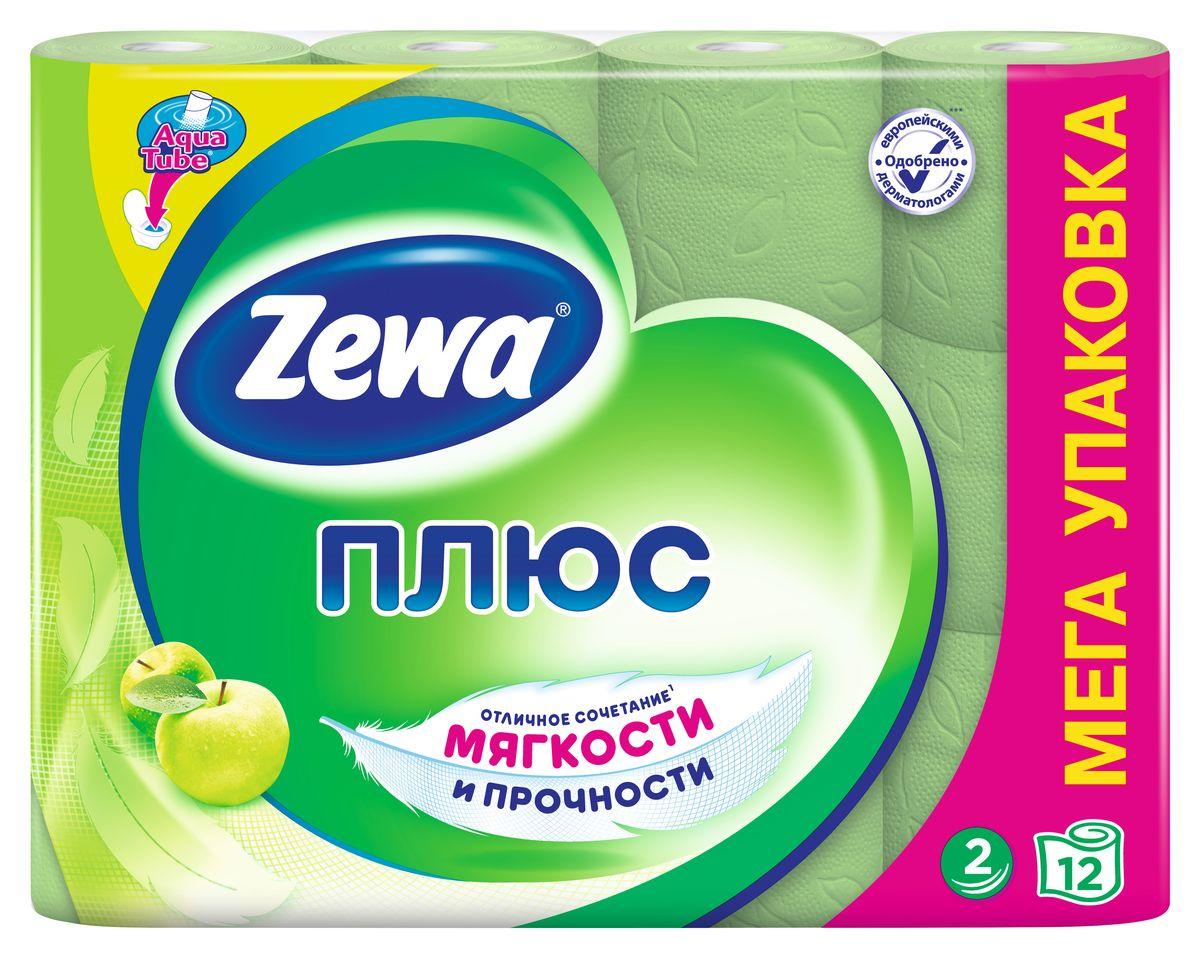 Туалетная бумага Zewa Плюс Яблоко, 2 слоя, 12 рулонов02.03.05.144098Туалетная бумага Zewa Плюс - это отличное сочетание мягкости и прочности. Она одобрена дерматологами и прекрасно подойдет всем членам вашей семьи – и тем, кому нужна мягкая бумага, и тем, кому важна прочность. Позаботьтесь о себе и своих близких вместе с Zewa. Сенсация! Со смываемой втулкой Aqua Tube! Зеленая 2-х слойная туалетная бумага с ароматом яблока 12 рулонов в упаковке Состав: вторичное сырье Производство: Россия