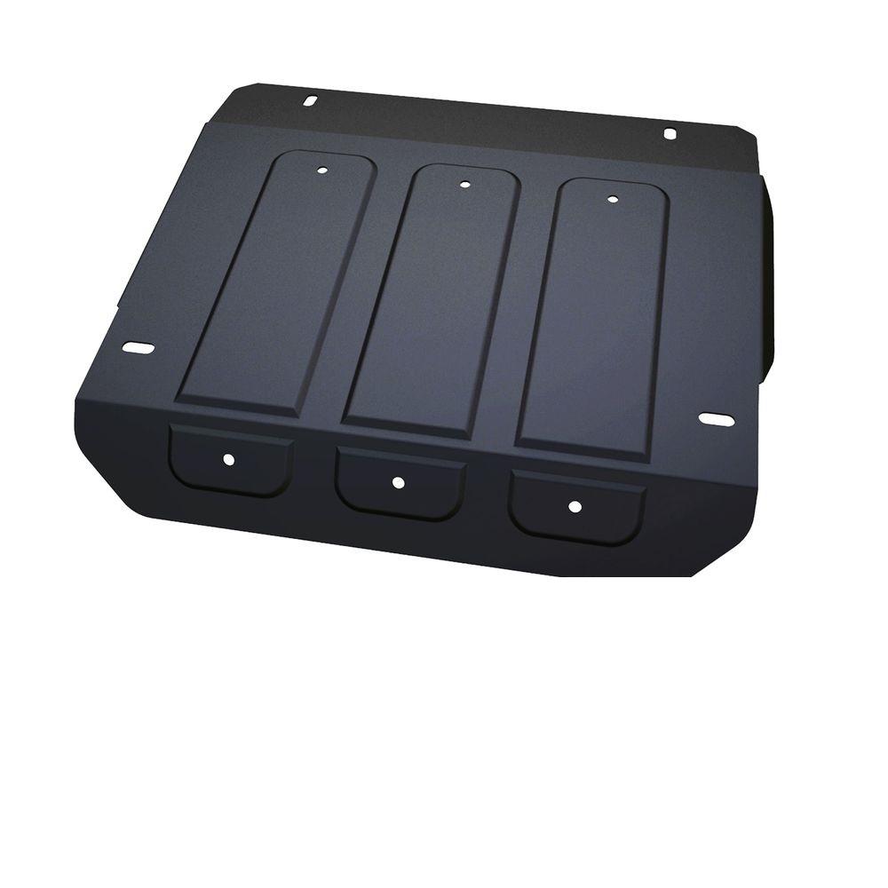 Защита рулевых тяг Автоброня, для UAZ 2206, 3962, V-2.7, (1965-)222.06317.1Технологически совершенный продукт за невысокую стоимость. Защита разработана с учетом особенностей днища автомобиля, что позволяет сохранить дорожный просвет с минимальным изменением. Защита устанавливается в штатные места кузова автомобиля. Глубокий штамп обеспечивает до двух раз больше жесткости в сравнении с обычной защитой той же толщины. Проштампованные ребра жесткости препятствуют деформации защиты при ударах. Тепловой зазор и вентиляционные отверстия обеспечивают сохранение температурного режима двигателя в норме. Скрытый крепеж предотвращает срыв крепежных элементов при наезде на препятствие. Шумопоглощающие резиновые элементы обеспечивают комфортную езду без вибраций и скрежета металла, а съемные лючки для слива масла и замены фильтра - экономию средств и время. Конструкция изделия не влияет на пассивную безопасность автомобиля (при ударе защита не воздействует на деформационные зоны кузова). Со штатным крепежом. В комплекте инструкция по установке....
