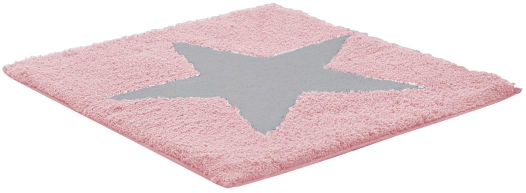 Коврик для ванной комнаты Ridder Star, цвет: розовый, 50 х 55 см712807