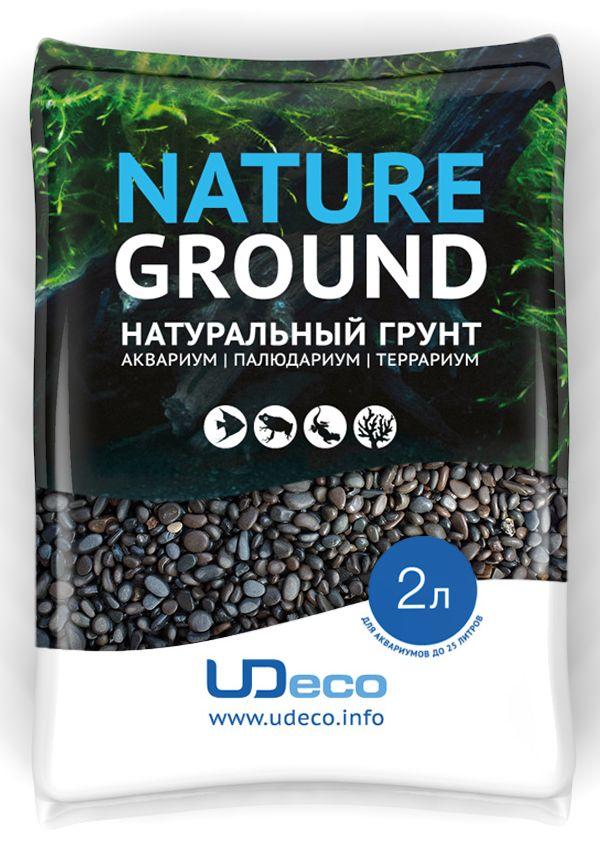Грунт для аквариума UDeco Темный гравий, натуральный, 3-5 мм, 2 л0120710Натуральный грунт UDeco Темный гравий предназначен специально для оформления аквариумов, палюдариумов и террариумов. Изделие готово к применению.Грунт UDeco порадует начинающих любителей природы и самых придирчивых дизайнеров, стремящихся к созданию нового, оригинального. Такая декорация придутся по вкусу и обитателям аквариумов и террариумов, которые ещё больше приблизятся к природной среде обитания.Необходимое количество грунта рассчитывается по формуле:длина аквариума х ширина аквариума х толщина слоя грунта. Предназначен для аквариумов от 25 литров. Фракция: 3-5 мм.Объем: 2 л.