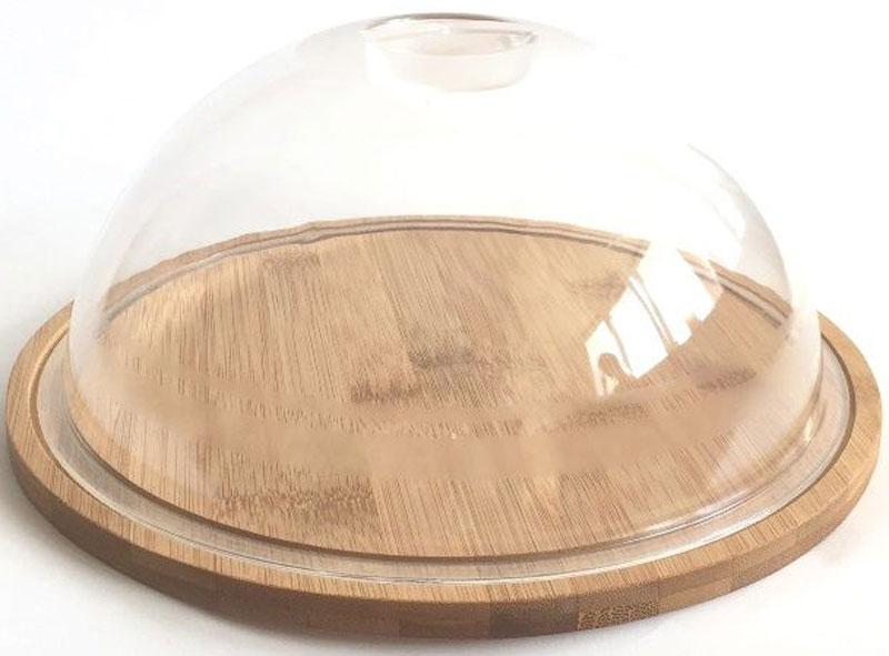 Тортница Dommix, диаметр 23,5 смBNB4566С тортницей Dommix выполненной из древесины дерева, бамбук, вы всегда сможете красиво и эстетично расположить торт или пирог на праздничном столе. Крышка сидит на подносе достаточно плотно и изготовлена из пластика, что позволяет сохранить первоначальную свежесть торта и защитить его от посторонних запахов. Упаковано в коробку.