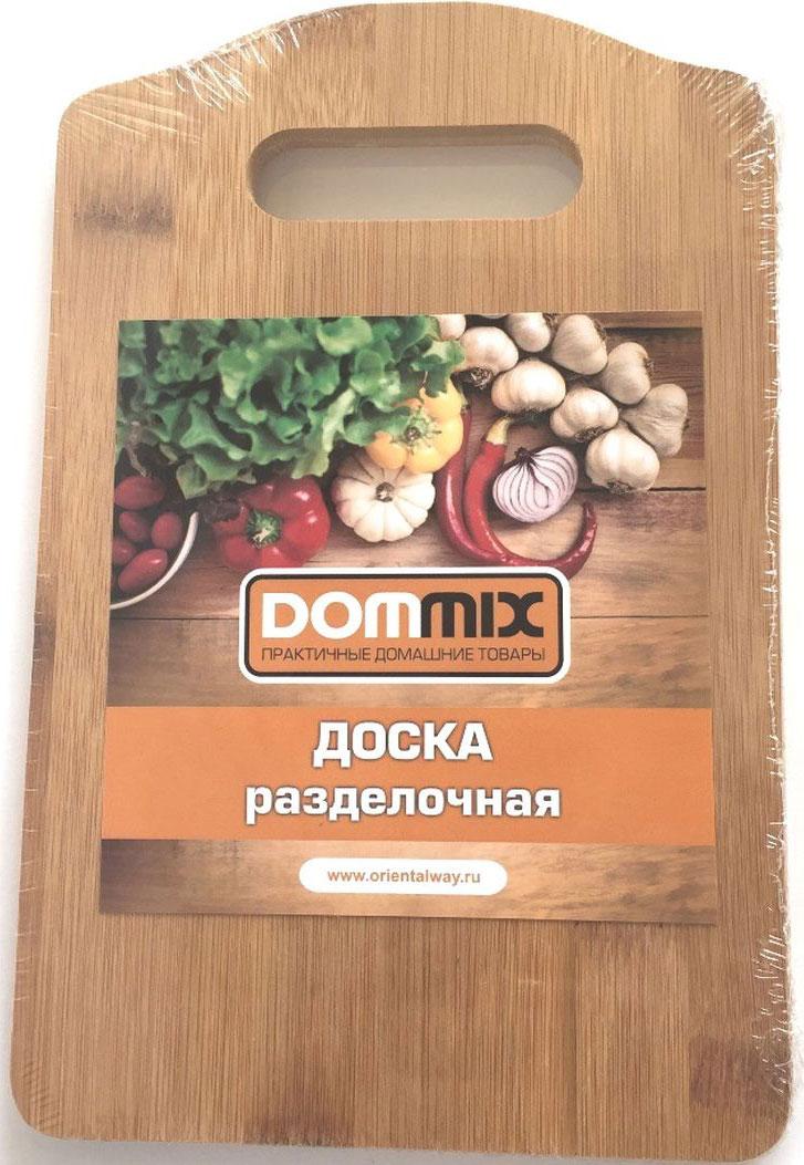 Доска разделочная Dommix, прямоугольная, 15 х 23 х 1 смBNB830Доска разделочная Dommix выполнена из натурального дерева бамбука. Доска снабжена удобной ручкой, страна изготовления Китай. Упаковано в полиэтиленовую пленку. Размер 23х15х1 см . Прекрасно подходит для приготовления и сервировки пищи. Особенности разделочной доски Dommix: высокое качество шлифовки поверхности изделий, двухслойное покрытие пищевым лаком, безопасным для здоровья человека, степень влажность 8-10%, не трескается и не рассыхается, высокая плотность структуры древесины, устойчива к механическим воздействиям,не предназначена для мытья в посудомоечной машине.