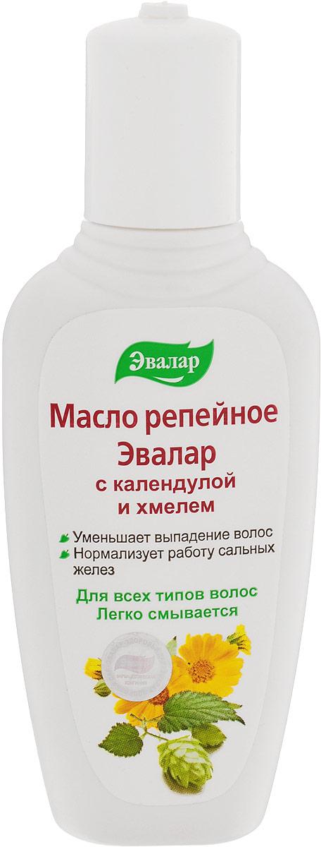 Эвалар Масло репейное с календулой и хмелем 100 мл (от выпадения волос)