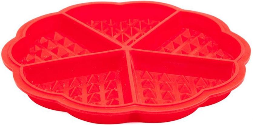 Форма для выпечки Bradex Сладкие сердца, силиконовая, 5 ячеекTK 0239Для бодрящего завтрака или романтического ужина прекрасно подойдут пышные и вкусные вафли. Теперь Вам не потребуется вафельница или иные громоздкие приспособления: все, что вам нужно, – это духовка и форма силиконовая Bradex Сладкие сердца. Преимущества: • Компактна и удобна в хранении • Выполнена из качественного термостойкого силикона, выдерживающего нагрев до 220°С • Романтичная форма в виде сердечек • Не требует добавления масла