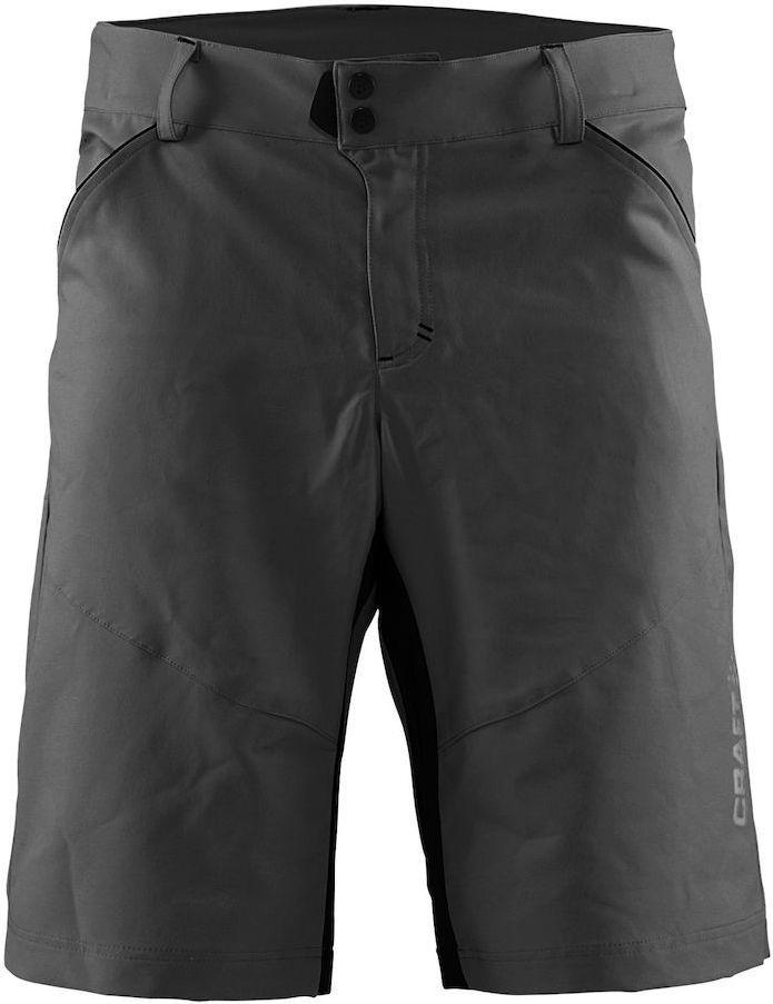 Шорты мужские для велоспорта Craft Escape Bike, цвет: черный. 1903301. Размер M3038Функциональные шорты с эластичными вставками для оптимальной свободы движений. Эластичный и износостойкий материал.