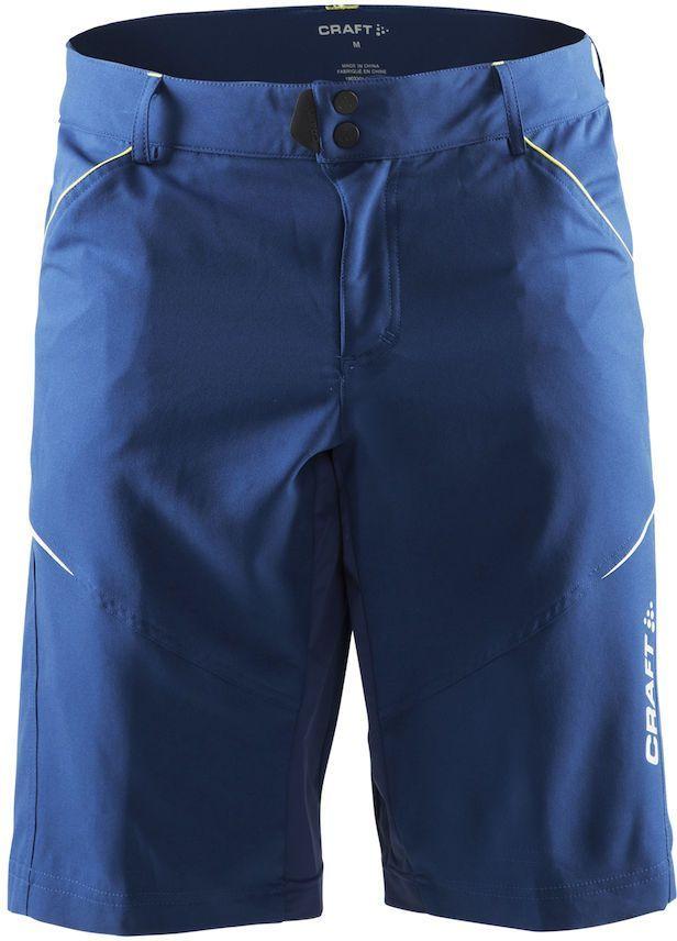 Шорты мужские для велоспорта Craft Escape Bike, цвет: синий. 1903301. Размер S1903301Функциональные шорты с эластичными вставками для оптимальной свободы движений. Эластичный и износостойкий материал.