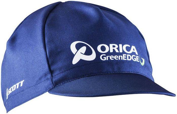 Кепка для велоспорта Craft Orica, цвет: синий, белый. 1904467. Размер универсальныйLC1702T_синий_38Эргономичный крой, дополнение к велоэкипировки