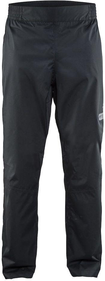 Штаны мужские для велоспорта Craft Ride Rain, цвет: черный. 1905014. Размер SCRL-1Легкие ветро- и водонепроницаемые брюки с проклееными швами и отличной вентиляцией