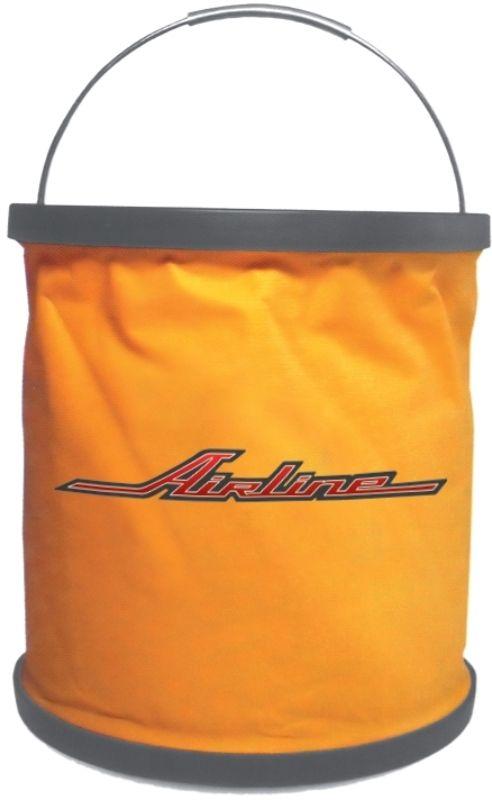 Ведро-трансформер Airline, цвет: оранжевый, 11 лAB-O-02Ведро-трансформер является особой разработкой AIRLINE: оно изготовлено из ткани с особым строением, которая не пропускает жидкость. Ведро легко складывается и раскладывается с помощью удобного механизма. В разложенном состоянии вместимость ведра составляет 11 литров. Изделие удобно помещается в багажник любого автомобиля и не занимает много места. Ведро изготовлено в фирменном оранжевом цвете компании-производителя с нанесением логотипа AIRLINE.