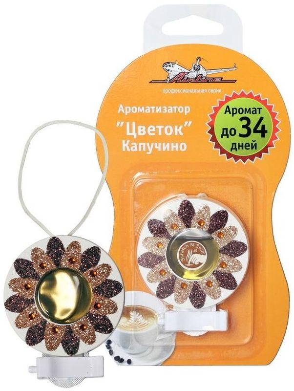 Ароматизатор на дефлектор Airline Цветок, гелевыйAF-D02-CA