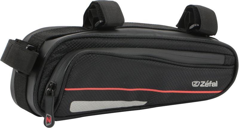 Велосумка под раму Zefal Z Frame Pack, 27 х 10 х 8 см7049ZEFAL Z Frame Pack - это достаточно большая (1,3 литра) эргономичная и аэродинамичная сумка с креплением на раму для любого типа велосипеда. Для лучшей организации внутреннего пространства Z Frame Pack оснащена двумя удобными сетчатыми кармашками, крючком для ключей, и липучками велкро для насоса. Износостойкий и лёгкий материал сумки 420D Ripstop и молнии с влагозащитой не пропускают внутрь воду и пыль. Для Вашей большей безопасности, на сумку нанесены светоотражающие элементы. ZEFAL – старейший французский производитель велосипедных аксессуаров премиального качества, основанный в 1880 году, является номером один на французском рынке велосипедных аксессуаров. • Крепление на подседельную и верхнюю трубу рамы • Вес 125 г. • Размер 270х100х80 мм. • Объём 1,3 л. • Материал сумки и молнии 420D Ripstop • Молнии с влагозащитой • Сетчатые кармашки органайзер • Крючок для ключей • Крепление для насоса • Светоотражающие элементы