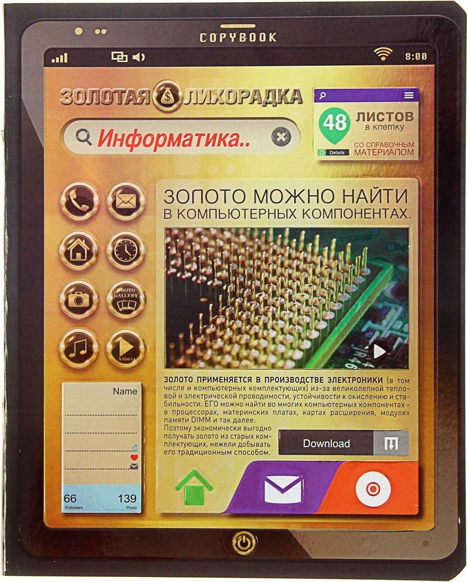ПЗБФ Тетрадь Золотая лихорадка-2 Информатика 48 листов в клетку 1404190