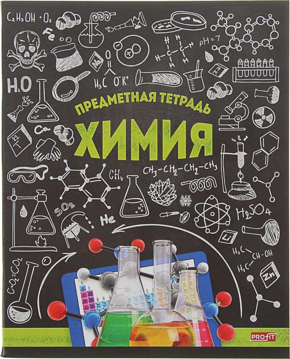 Profit Тетрадь Стильная Химия 48 листов в клетку2170892