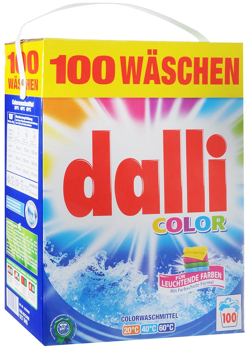 Стиральный порошок Dalli, для цветных тканей, 6,5 кг527946Стиральный порошок Dalli - концентрированный стиральный порошок с активной системой защиты цвета, который надежно предохраняет цветные ткани от выцветания и потери яркости. Порошок предотвращает смешивание красок. Цвета даже после многочисленных стирок остаются интенсивными и сияющими. Обладает безупречным отстирывающим показателем, удаляет даже застарелые трудновыводимые загрязнения. Идеально подходит как для ручной, так и для машинной стирки в воде любой жесткости при температуре от 30°С до 60°С. Порошок придает белью и одежде приятный аромат удивительной свежести. Не рекомендуется применять для шерсти и шелка. Добавление средства для уменьшения жесткости воды не требуется. Товар сертифицирован.
