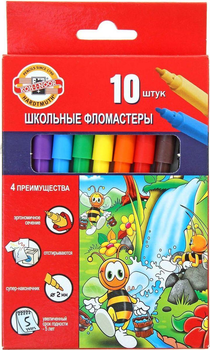 Koh-I-Noor Набор фломастеров Пчелка 10 цветов1161765