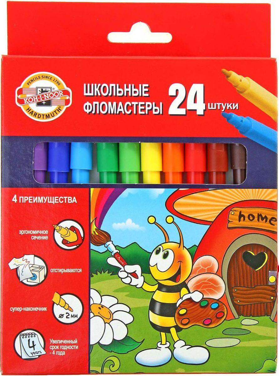 Koh-I-Noor Набор фломастеров Пчелка 24 цвета1161782
