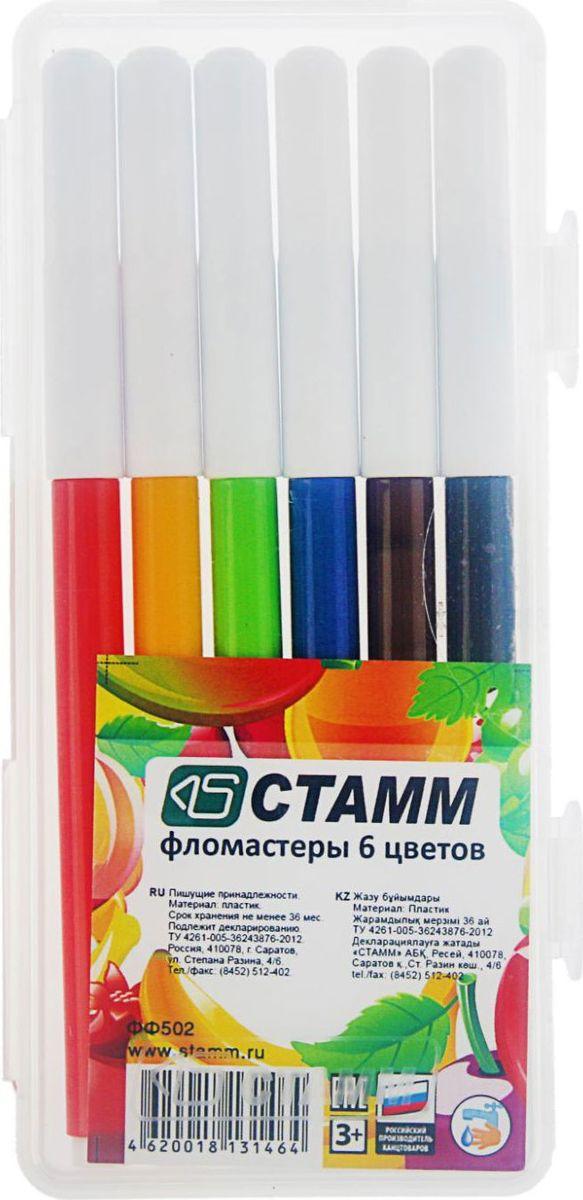 Стамм Набор фломастеров Летние фрукты 6 цветов2187693