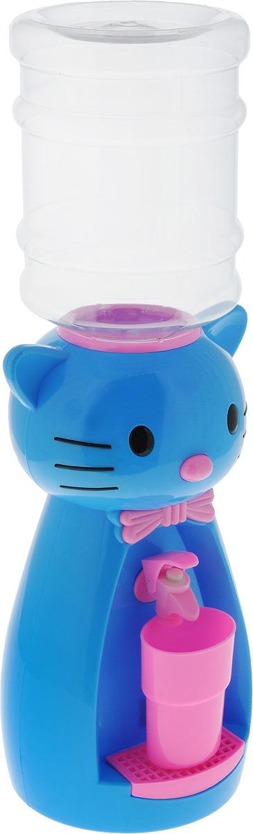 Мини-кулер для воды и сока HITT Мультик. Китти, цвет: голубой, розовый, 2 лН25200_голубой, розовыйМини-кулер для воды и сока HITT Мультик. Китти, цвет: голубой, розовый, 2 л