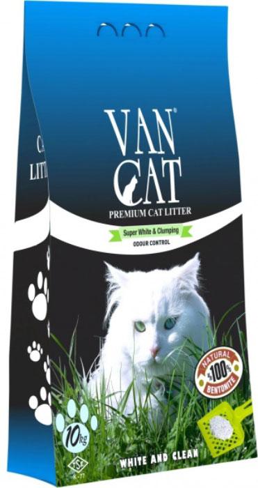 """Наполнитель для кошачьих туалетов """"Van Cat"""", комкующийся, без пыли, с ароматом весенней свежести, 10 кг 20251"""