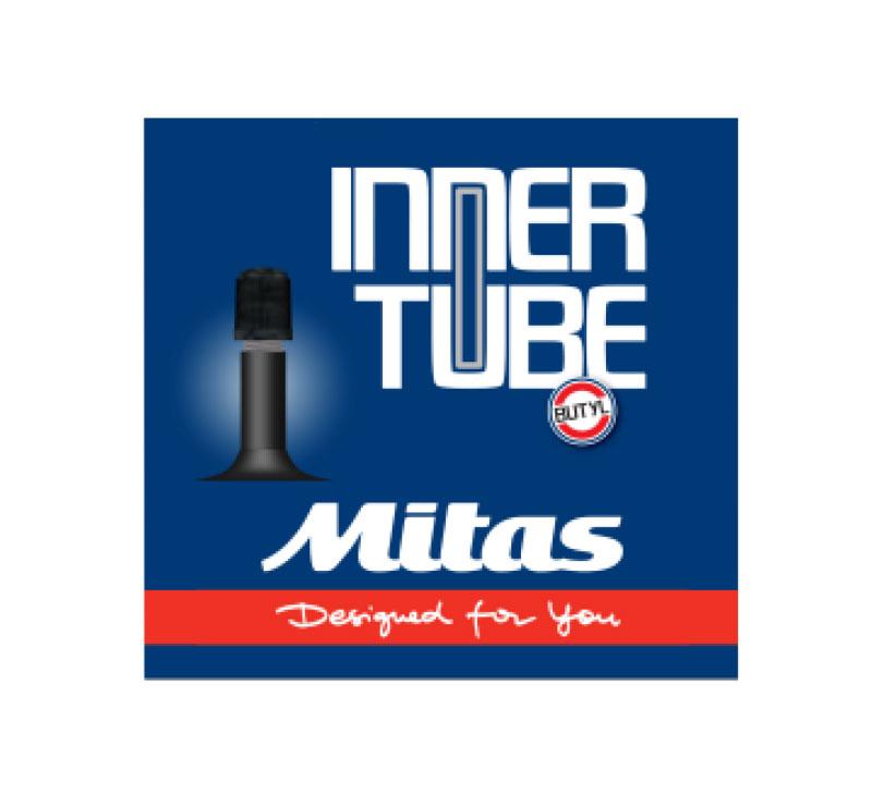Велокамера Mitas K10 AV35, цвет: черный, 16 х 2,1-2,55-10301294-111Размер: 16 x 2,10 - 2,50 (54/62-305) Ниппель: автомобильный
