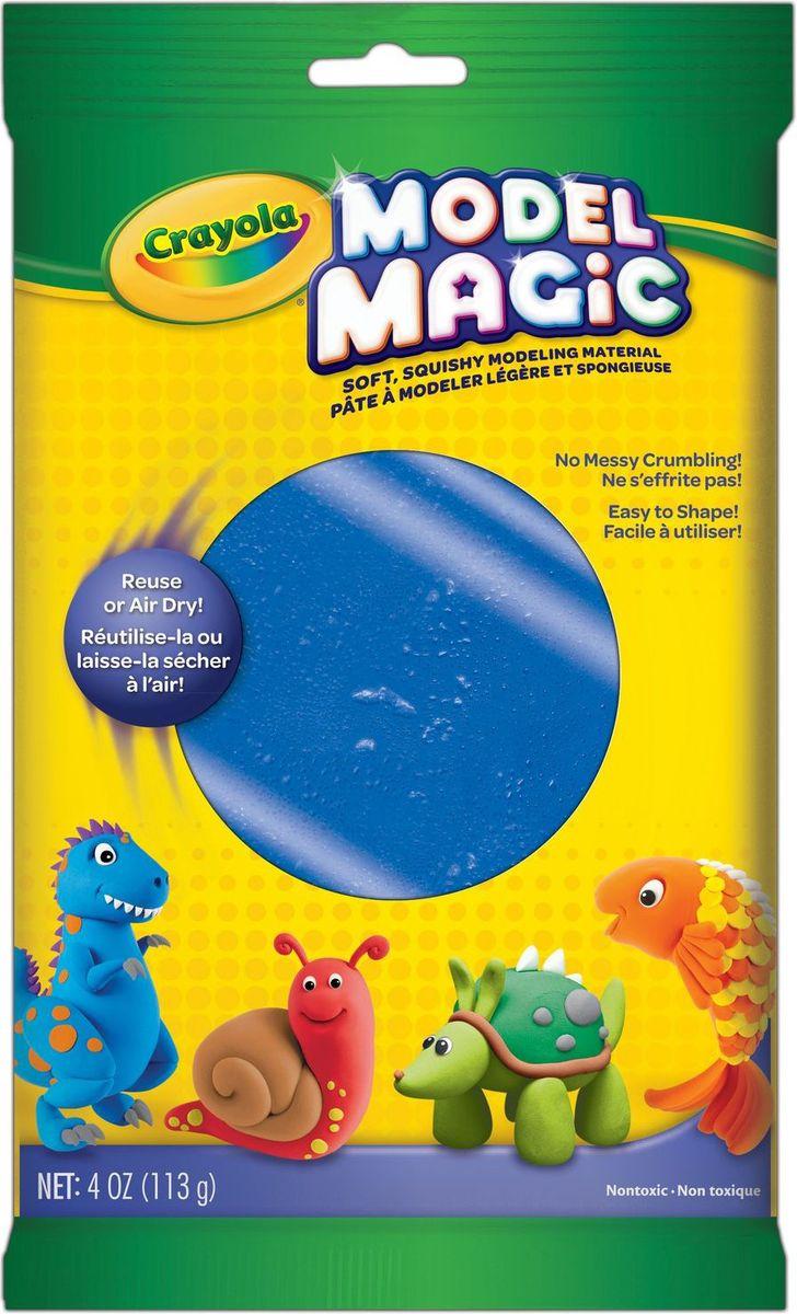 Crayola Застывающий пластилин цвет синий 113 г15293Волшебный застывающий пластилин Crayola синего цвета - это пластилин с ярким насыщенным цветом, который обладает уникальным свойством - не прилипать к рукам и прекрасно лепиться.Вашему малышу уже исполнилось четыре года? Тогда спешите порадовать его таким подарком. Пластилин с приятным запахом подарит малышу огромное количество положительных эмоций.Синий пластилин поможет ему слепить облачко, цветочек или даже тролля, который напомнит ему о популярном мультфильме. Развивая мелкую моторику рук и создавая свой собственный шедевр, малыш с пользой проведет свое время.