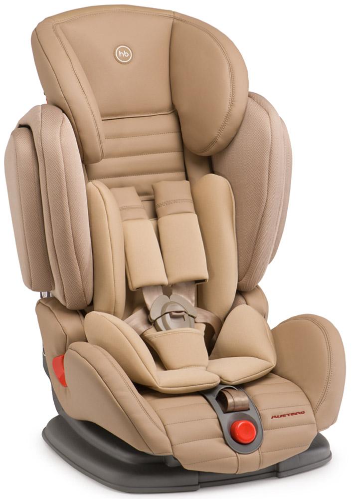 Happy Baby Автокресло Mustang 9-36 кгSC-FD421005Mustang - автомобильное кресло группы I-II-III (для детей от 9 до 36 кг). Регулируемые по высоте пятиточечные ремни с мягкими накладками обеспечивают безопасность и комфорт малыша.Уникальность этого автокресла в том, что оно регулируется по ширине и ребенку будет в нем комфортно в любое время года. Защита от боковых ударов с регулируемым по высоте подголовником обеспечивает дополнительную безопасность. Кресло имеет четыре угла наклона спинки, оснащено удобным механизмом регулировки. Автокресло крепится в автомобиле с помощью штатных трехточечных ремней безопасности и устанавливается лицом по ходу движения автомобиля.