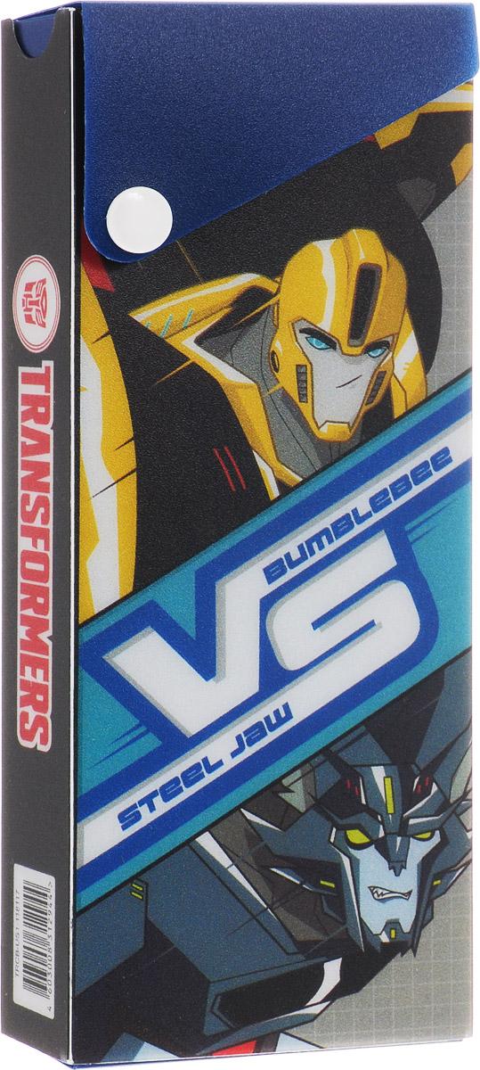 Kinderline Пенал Transformers Prime выдвижной на кнопке72523WDПенал Kinderline Transformers Prime станет не только практичным, но и стильным школьным аксессуаром для мальчика.Пенал Herlitz выполнен из прочного материала, выдвигается и застегивается на кнопку. Состоит из одного вместительного отделения.Такой пенал станет незаменимым помощником для школьника, с ним ручки и карандаши всегда будут под рукой и больше не потеряются.