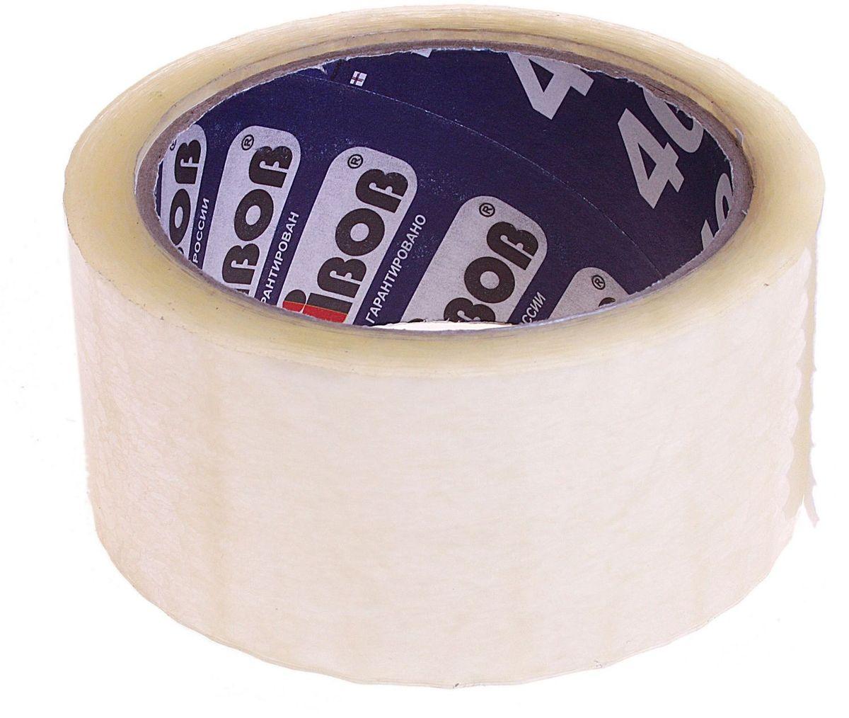 Клейкая лента 48 мм х 66 м цвет прозрачный 584577584577Клейкая лента на полипропиленовой основе это водонепроницаемое изделие, которое способно противостоять широкому диапазону температур. Применяется в быту для упаковки: легких и тяжелых коробок, изготовленных из гофрокартона, строительных смесей, масложировой продукции и мороженого, канцелярских товаров, промышленных товаров. Клейкая лента поможет скрепить предметы в любой ситуации, например, если вы делаете ремонт или меняете место жительства и пакуете коробки.