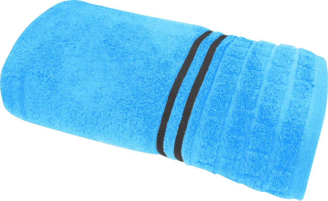 Полотенце махровое НВ Лана, цвет: синий, 100 х 150 см. м1009_0184551