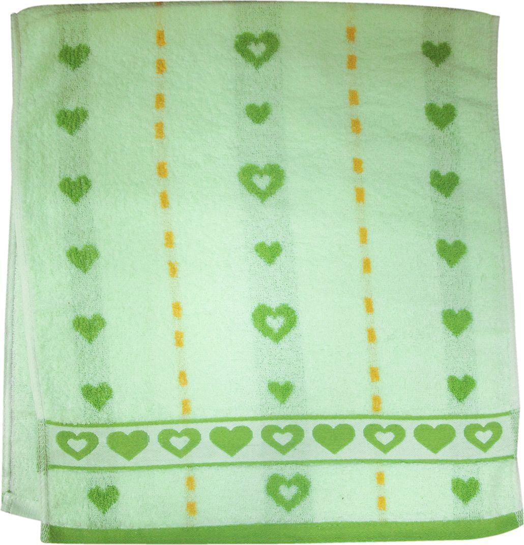 Полотенце махровое НВ Магнит, цвет: зеленый, 40 х 90 см. м0737_0385181
